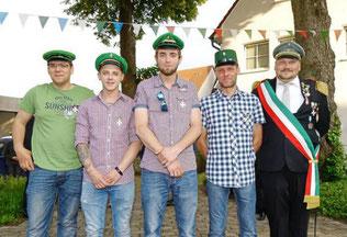 Die Jungschützen ehrten unter anderem ihre zehnjährigen Vereinsmitglieder.