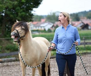 Sharon Wilsie Kurs, Kirsti Ludwig, Pferdesprache, Sprachkurs Pferd, Horse Speak
