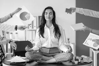 meditation entreprise bien-être au travail