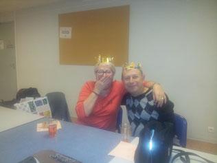 Le roi et la reine de la soirée
