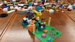 LEGO SERIOUS PLAY Workshop Werte Identität Entwicklung