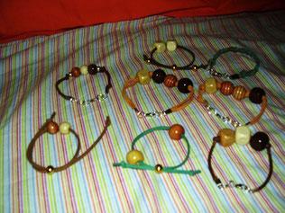 Pulseras artesanales hechas en zaragoza