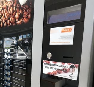 Der brandneue Kaffee-Automat