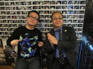 (左から)村田晴郎さん、鈴木健.txtさん