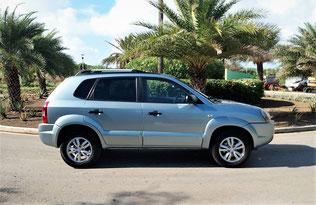 Hyundai Tucson Urlaub Curacao