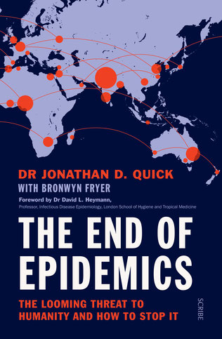 Dr. Jonathan Quick: The End of Epidemis (Scribe), Buchcover