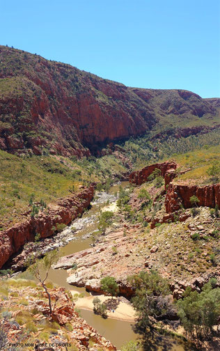 Ormiston Gorge, MacDonell National Park, Australie