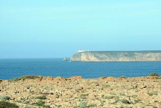 Blick vom Fort auf den Leuchtturm
