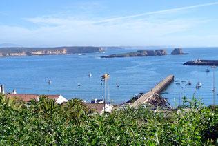 Die geschützte Bucht von Sagres