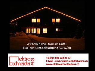 LED-Konturenbeleuchtung