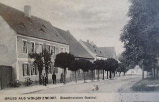 Bild: Wünschendorf Klobikau Postkarte 1910