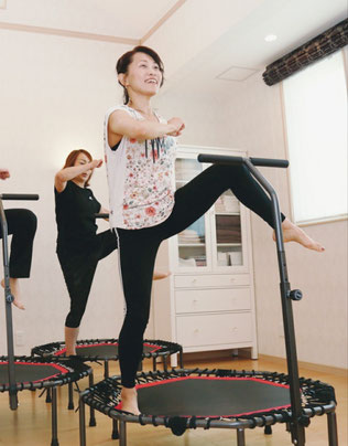 女性限定少人数制レッスン脂肪燃焼 からだジャンプ