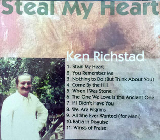 "CD : ""Steal my Heart"" - back cover"