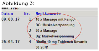 """Abbildung 3 zeigt das """"Vprp"""" ohne """"#."""" vor der Diagnose"""