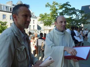 1-Dernières mises au point  pour José et père Daniel, les deux complices, accompagnateurs du parcours confirmation