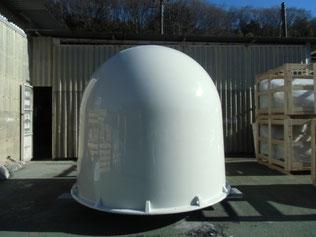 FRP製気象レーダー用レドーム