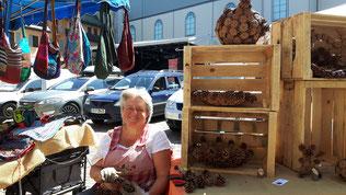 Fabrikadomi au marché de Megève