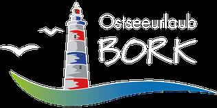www.ostseeurlaub-bork.de Ostseeurlaub Bork Leuchtturm Kappeln Familienurlaub Strandurlaub direkt am Strand