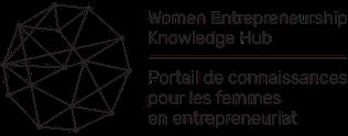 Logo PCFE WEKH portail de connaissances pour les femmes en entrepreneuriat