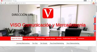 url pagina web