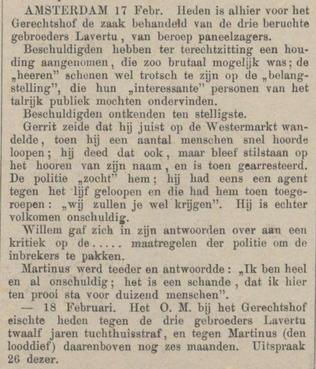 Provinciale Noordbrabantsche en 's Hertogenbossche courant  21-02-1880