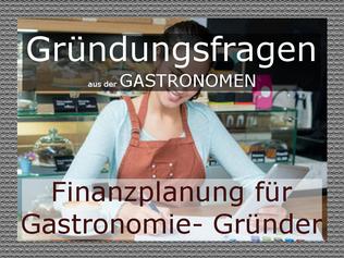 Finanzplanung für Gastronomie- Gründer