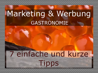 Marketingtipps Gastronomie