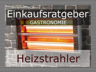 Heizstrahler Gastronomie