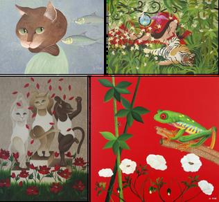 Tableaux déjà vendus - par Stéphanie Le Pitre artiste peintre à Nantes