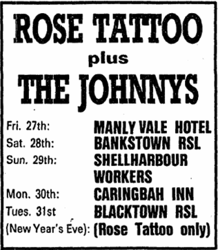 Tour AD -  Friday 27. December '85 - Sydney Morning Herald