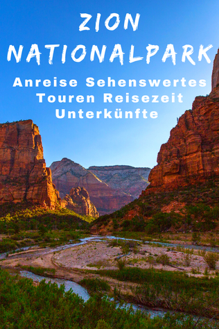 Zion National Park Sehenswürdigkeiten