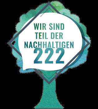 Wir sind Teil der nachhaltigen 222