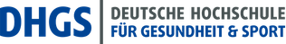 Logo und Link: Deutsche Hochschule für Gesundheit und Sport