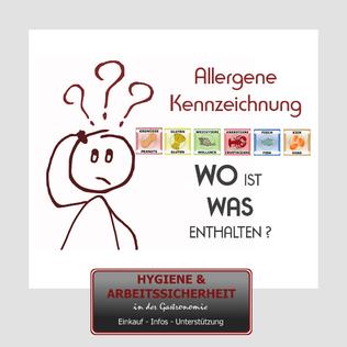Kennzeichnung Allergene
