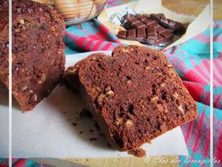 Cake chocolat, müesli-noisettes