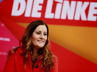 Janine Wissler, forkvinde af partiet Die Linke
