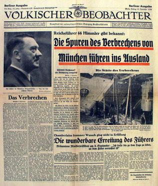 Nazisternes centrale dagblad