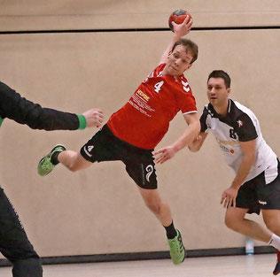 Maximilian Kernke war mit acht Treffern bester MBSV-Torschütze.  Foto: Dirk Fröhlich