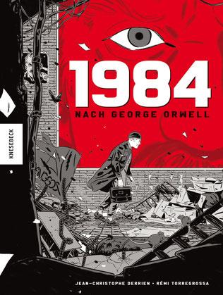 Cover Derrien/Torregrossa: 1984, nach George Orwell