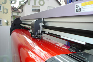 Folienplott - Klebebuchstaben bis 133 cm Höhe