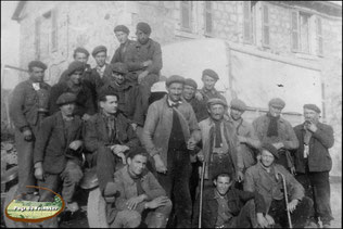 Mineurs de leucamp (cantal)