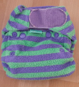 Stoffwindel Test Produkttest Rezension TotsBots Bamboozle Stretch Neugeborenenwindel Höschenwindel
