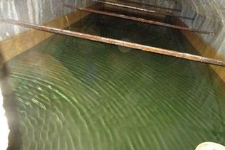 L'intérieur du réservoir