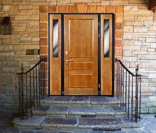 металлические двери со стеклом купить заказать цена