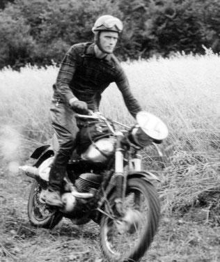 Motorcross in Derdingen in den 1960er Jahren