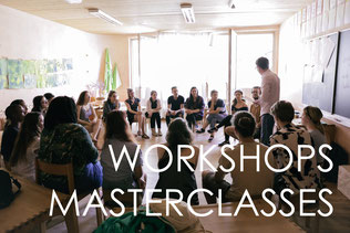 workshops and masterclasses