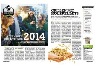 Grilltrend 2014: Pelletgrill von Memphis Grills