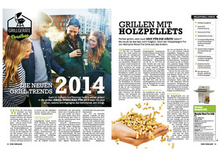 Grilltrends 2014: Pelletgrill von Memphis Grills