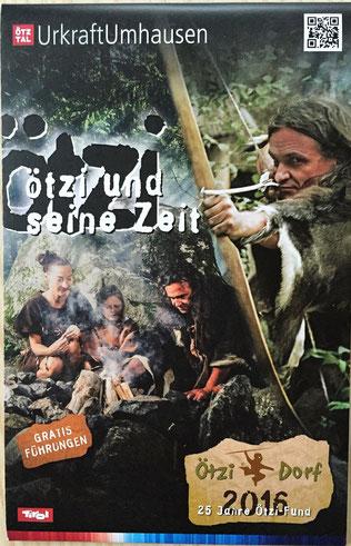 Quelle: Prospekt Ötzi und seine Zeit
