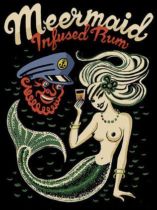 Wie geht eigentlich Punch? Mit Meermaid Infused Rum